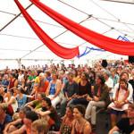 La Vache Qui Crie beim Interkulturellen Frauenmusikfestival, Hunsrück, 28.7.2013